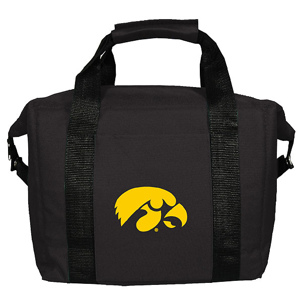 Iowa Hawkeyes 12 Kooler Bag