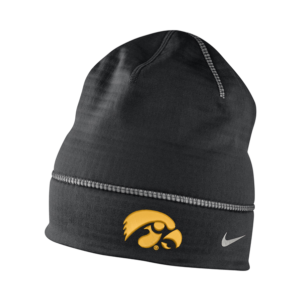 Iowa Hawkeyes Drive Fleece Beanie
