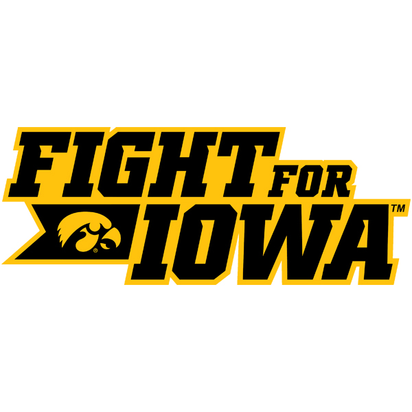 Iowa Hawkeyes Fight for Iowa Decal