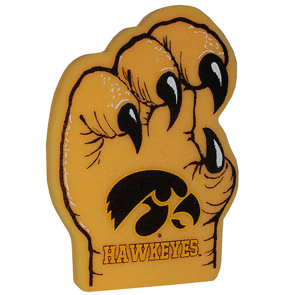 Iowa Hawkeyes Foam Talon