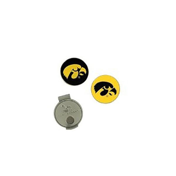 Iowa Hawkeyes Hat Clip/Ball Markers