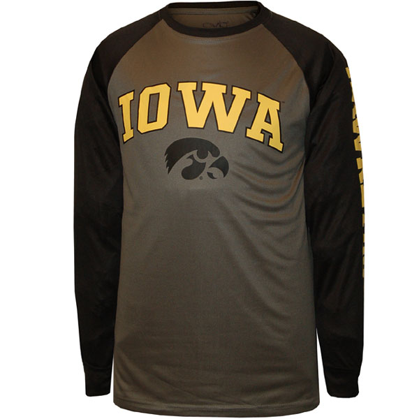 Iowa Hawkeyes Double Header Perform Tee