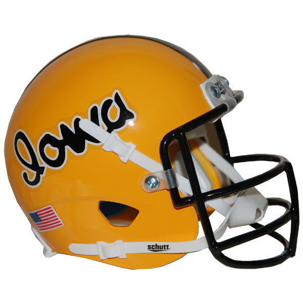 Iowa Hawkeyes 1978 Throwback Mini Helmet