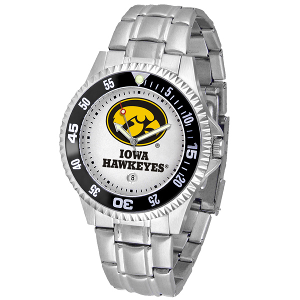 Iowa Hawkeyes Steel Competitor Watch