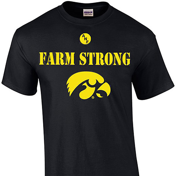 Iowa Hawkeyes Farm Strong Tee