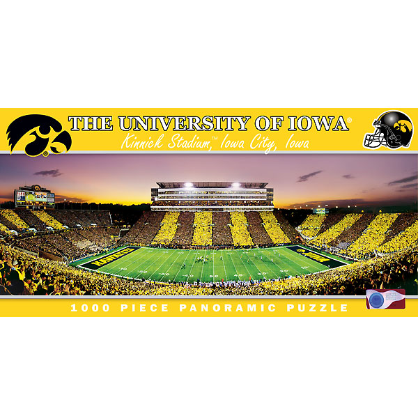 Iowa Hawkeyes University of Iowa Puzzle