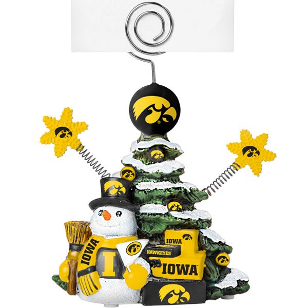 Iowa Hawkeyes Table Top Photo Holder