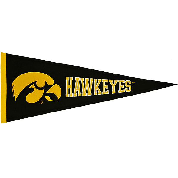 Iowa Hawkeyes Medium Pennant