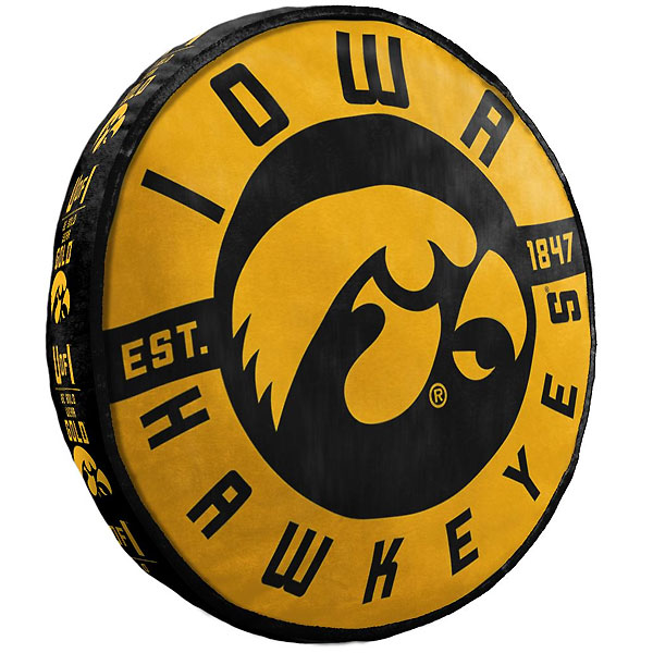 Iowa Hawkeyes Cloud To-Go Pillow