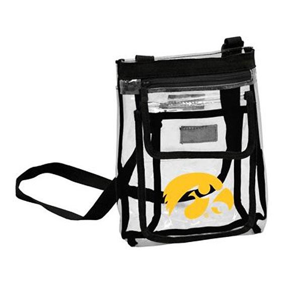 Iowa Hawkeyes Game Day Clear Crossbody