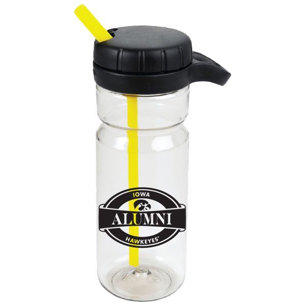 Iowa Hawkeyes OXO Alumni Twist Bottle