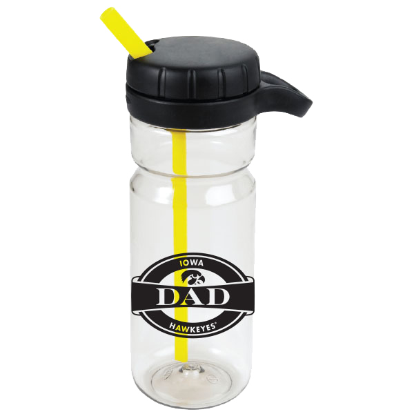 Iowa Hawkeyes OXO Dad Twist Bottle