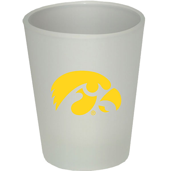 Iowa Hawkeyes Frosted Shot Glass