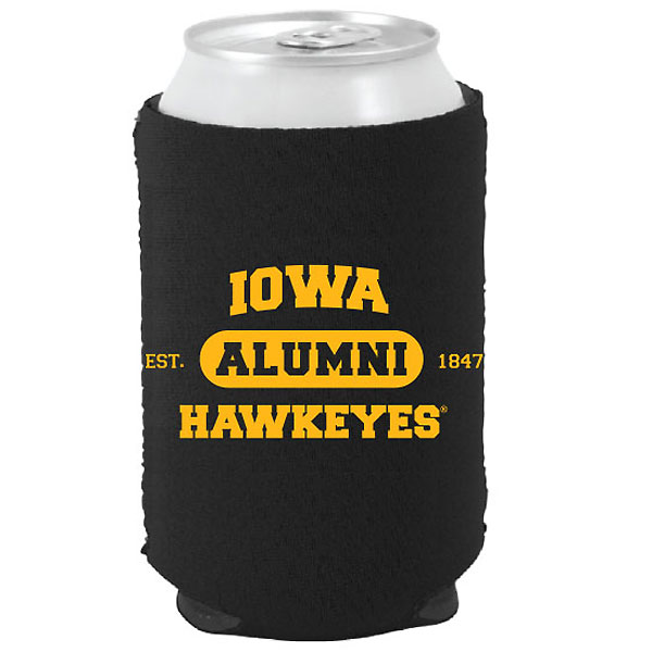 Iowa Hawkeyes Alumni Can Coozie