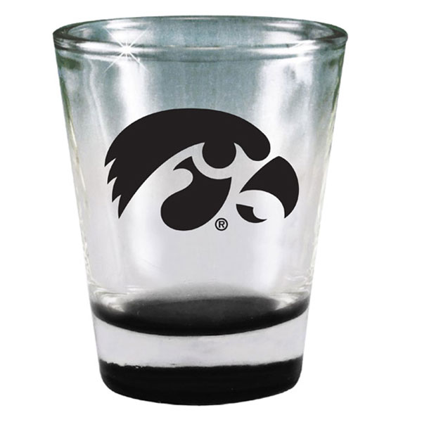 Iowa Hawkeyes Mirrored Shot Glass