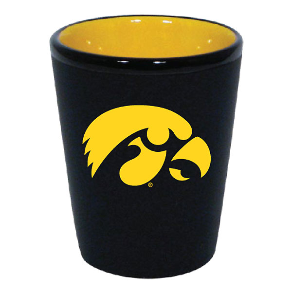 Iowa Hawkeyes 2-Tone Shot Glass