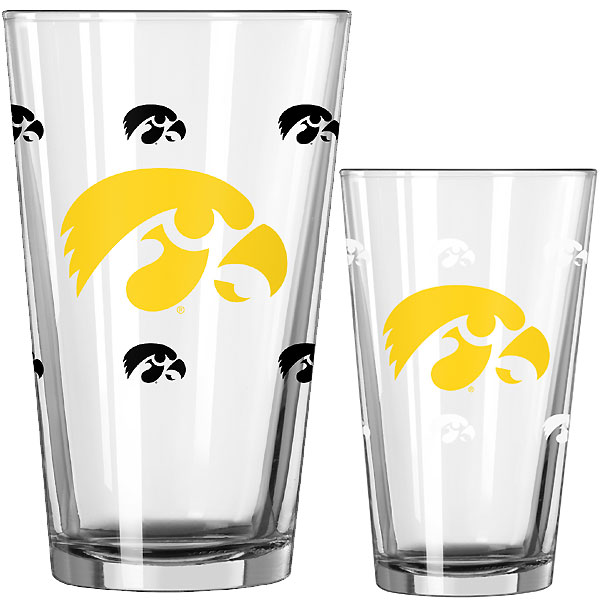 Iowa Hawkeyes Color Changing Pint