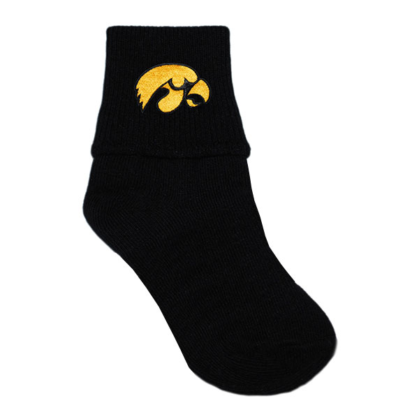Iowa Hawkeyes Infant Black Socks