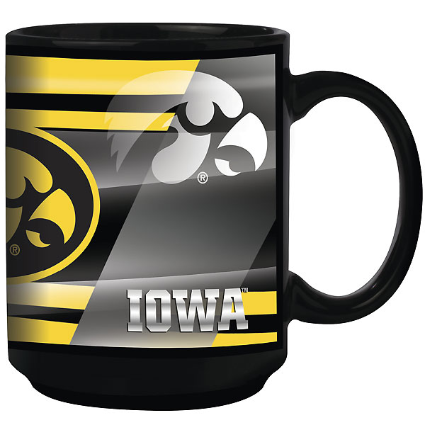 Iowa Hawkeyes Shadow Design Mug