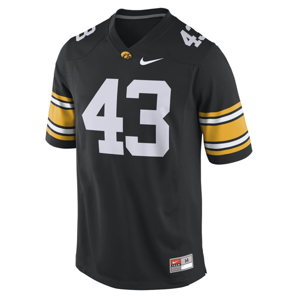 Iowa Hawkeyes #43 Football Jersey
