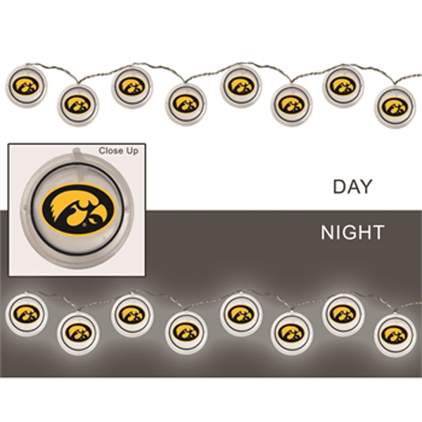 Iowa Hawkeyes String Lights