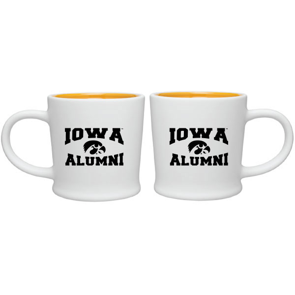 Iowa Hawkeyes Alumni Coffee Cup