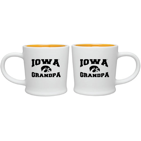Iowa Hawkeyes Grandpa Coffee Cup