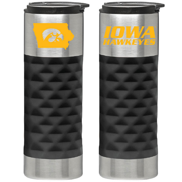 Iowa Hawkeyes Stainless Tumbler
