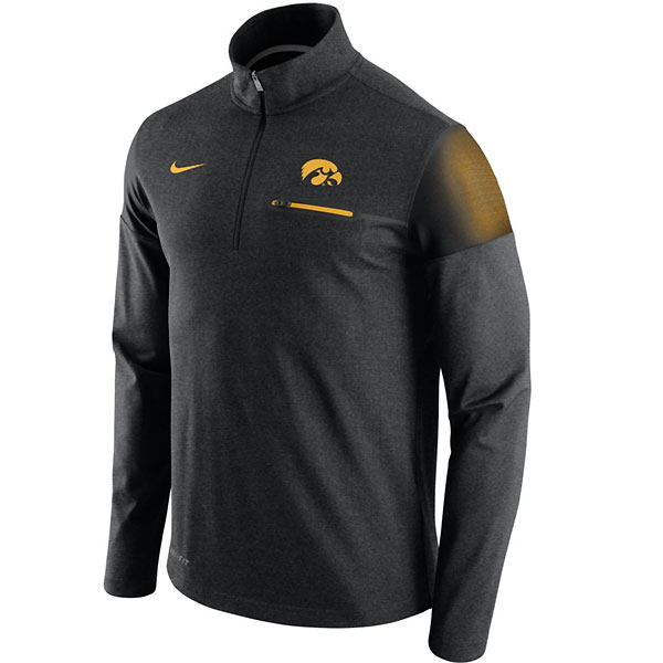 Iowa Hawkeyes Elite Coaches 1/2 Zip Top