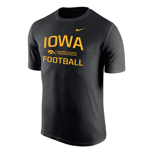 Iowa Hawkeyes Legends Life Tee