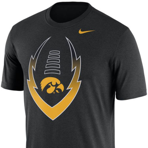 Iowa Hawkeyes Icon Tee