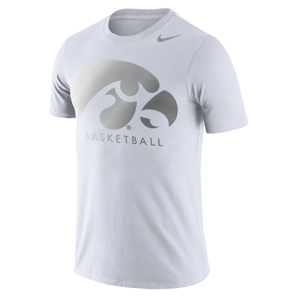 Iowa Hawkeyes Basketball Tee