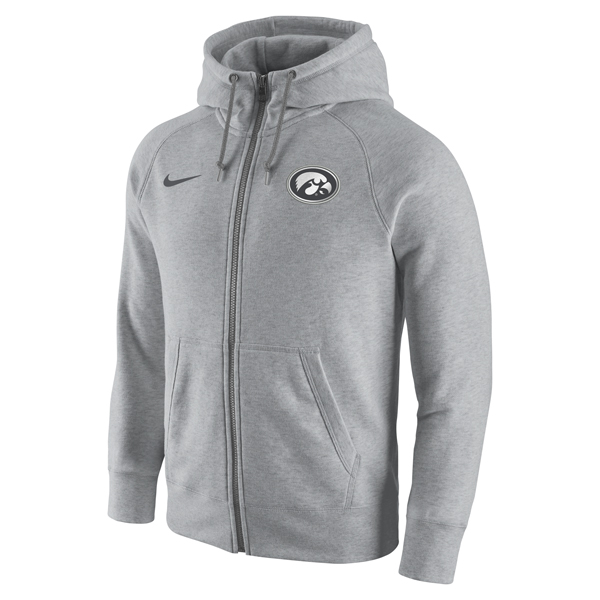 Iowa Hawkeyes Gridiron Fleece Full Zip