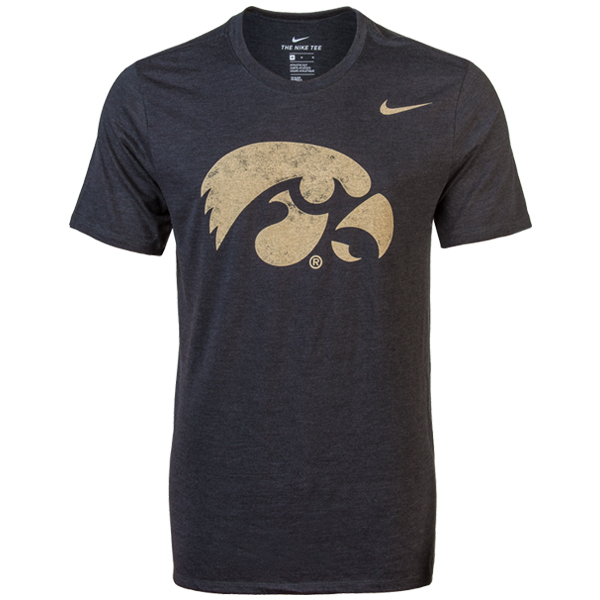Iowa Hawkeyes Tri Stamp Tee