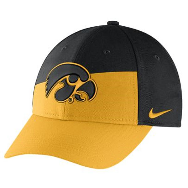 Iowa Hawkeyes Verbiage Flex Cap
