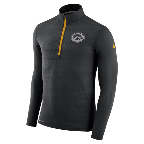 Iowa Hawkeyes Element Long Sleeve 1/4 Zip
