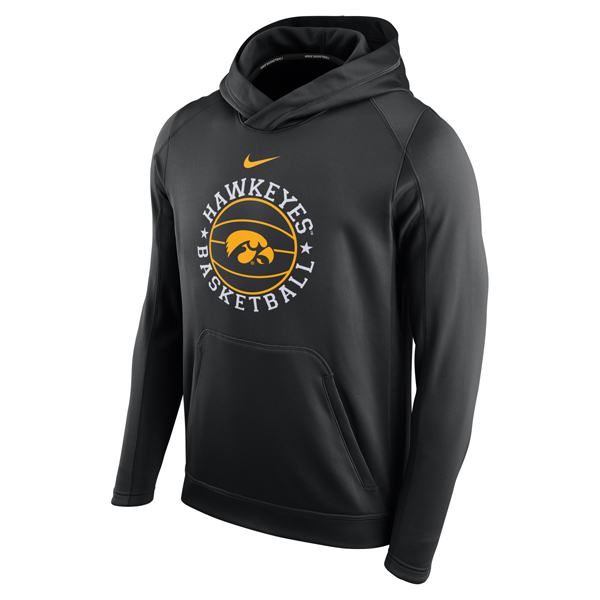 Iowa Hawkeyes Basketball Circuit Hoodie