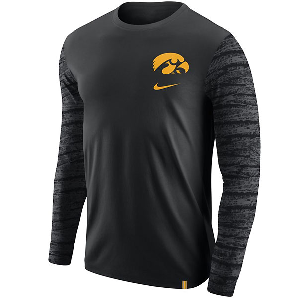 Iowa Hawkeyes Enzyme Pattern Tee