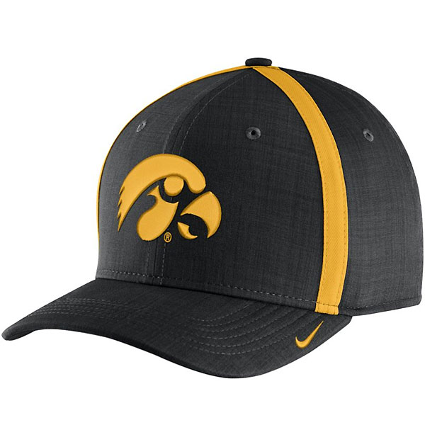 timeless design b6bc5 1e0d4 Iowa Hawkeyes Aerobill Adjustable Sideline Coaches Hat