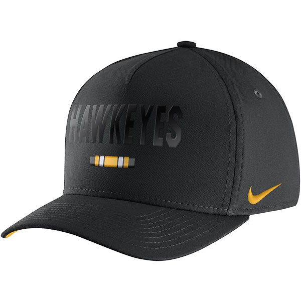 Iowa Hawkeyes Seasonal Blackout Hat