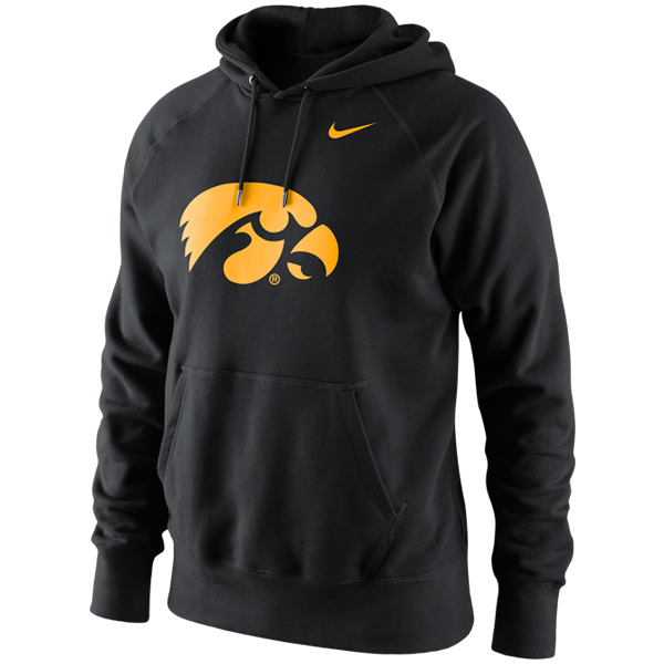 Iowa Hawkeyes Cotton Fleece Hoodie