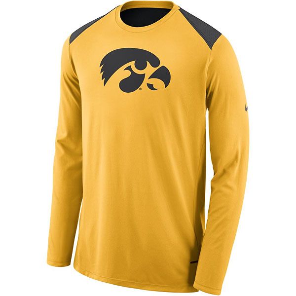 Iowa Hawkeyes Shooter Gold Tee