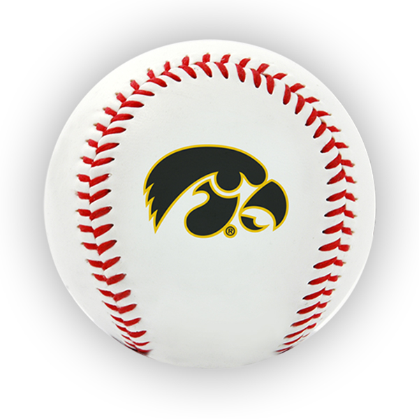 Iowa Hawkeyes Team Logo Baseball