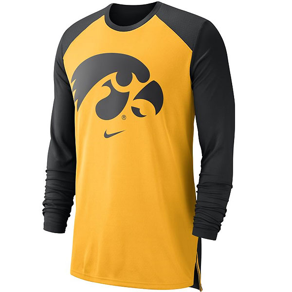 Iowa Hawkeyes Breathe Elite Top
