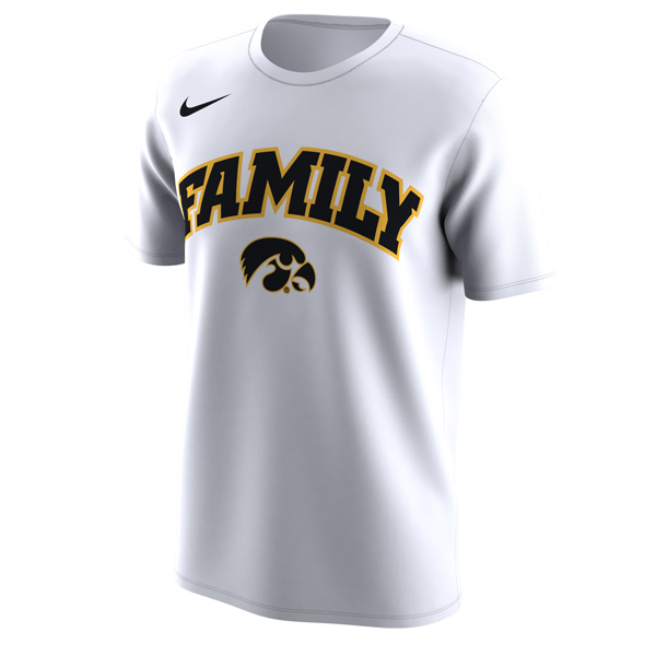 Iowa Hawkeyes Nike Family Tee