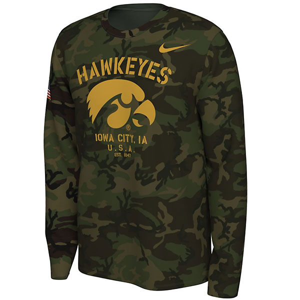 Iowa Hawkeyes Veterans Day Tee