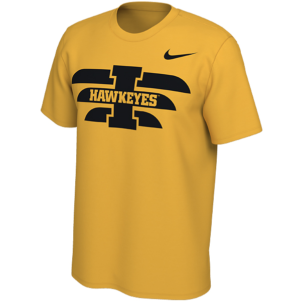 Iowa Hawkeyes Energy Pack Jersey Tee