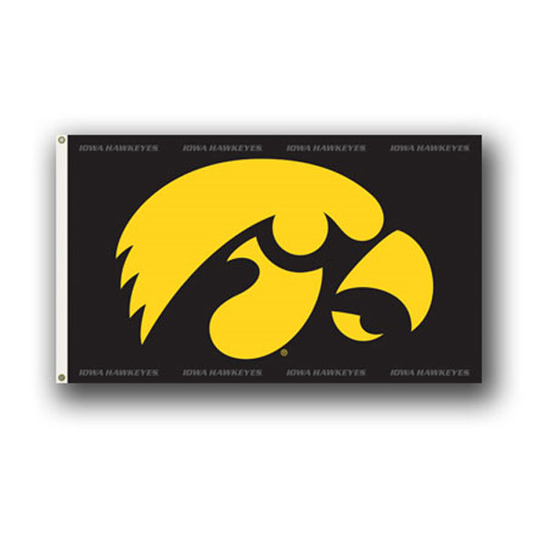 Iowa Hawkeyes 3' x 5' Flag