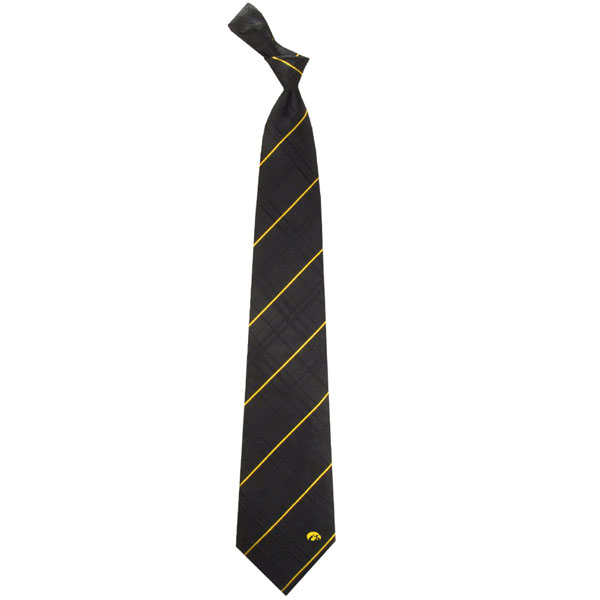 Iowa Hawkeyes Oxford Tie