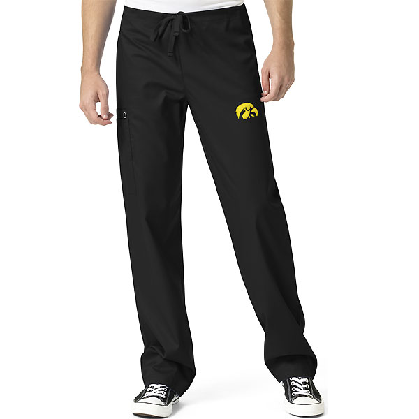 Iowa Hawkeyes Unisex Scrub Pants